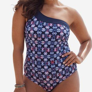 Swimsuits For All One Shoulder Maillot One Piece
